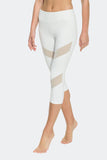 Ongasoft Yoga pants-K7-002White-Side