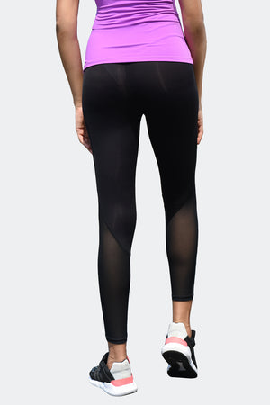 Ongasoft Yoga pants-K026Black-Back