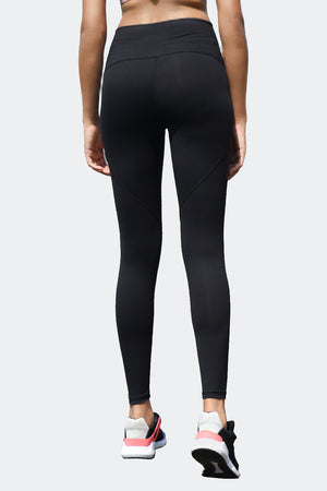 Ongasoft Yoga pants-9002Black-Back