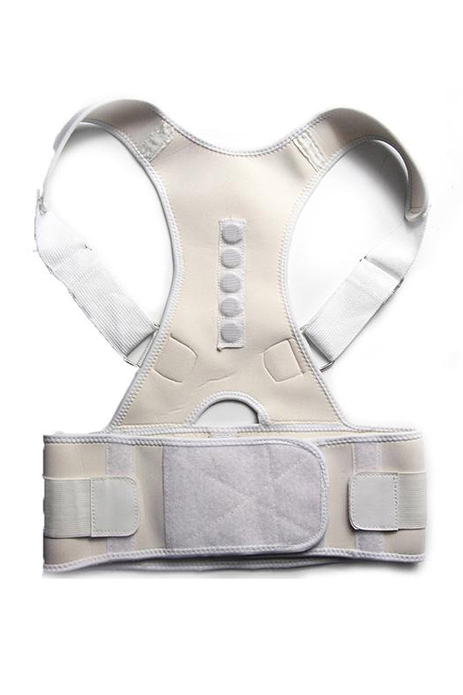 Ongasoft Posture Corrective with Belt-White