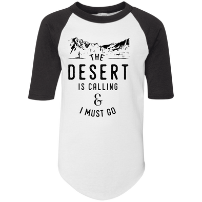 The Desert is Calling Jersery Tee - | Outdoor Wear | Wear Your Wild Co.