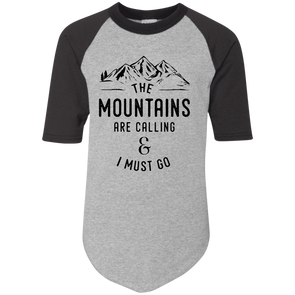 The Mountains are Calling Jersey Tee - | Outdoor Wear | Wear Your Wild Co.