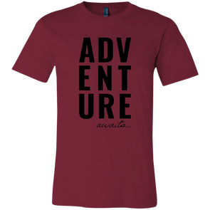 Adventure Awaits Bella T Shirt