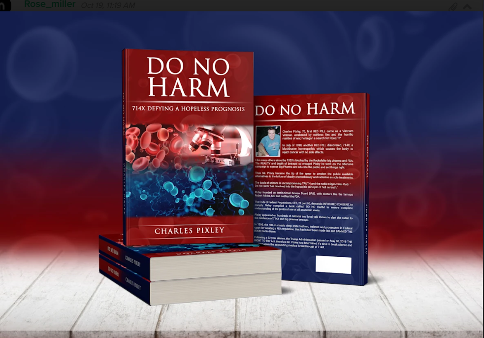 Do No Harm: 714X Defying A Hopeless Prognosis