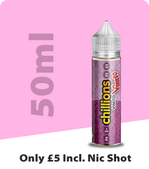 50ml eliquid only £5 including nic shots