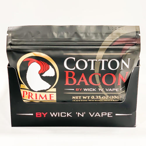 Cotton Bacon wick for coils