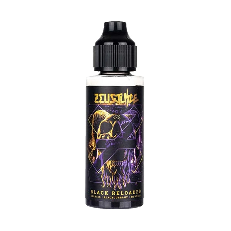 Black Reloaded 100ml E-Liquid by Zeus Juice