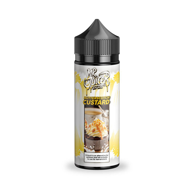 Butterscotch Custard 100ml E-Liquid by Mr Juicer