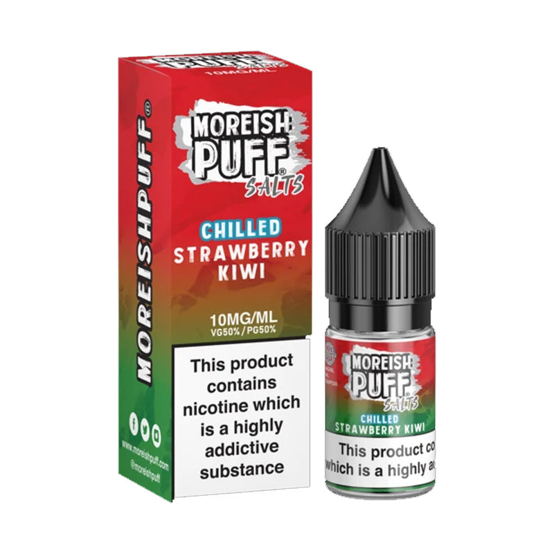 Strawberry & Kiwi Chilled Nic Salt by Moreish Puff