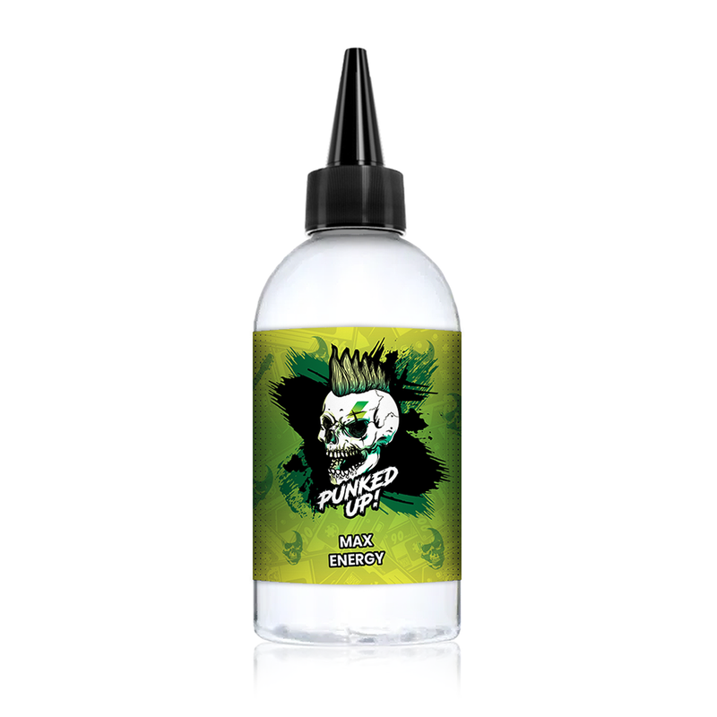 Max Energy 200ml Shortfill E Liquid by Punked Up