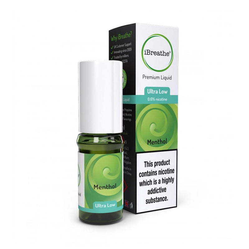 Menthol 10ml E-Liquid by iBreathe