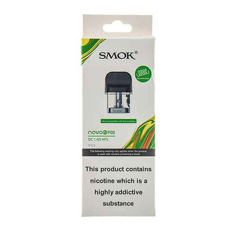 Smok Novo 2 Replacement Pods - 3 Pack
