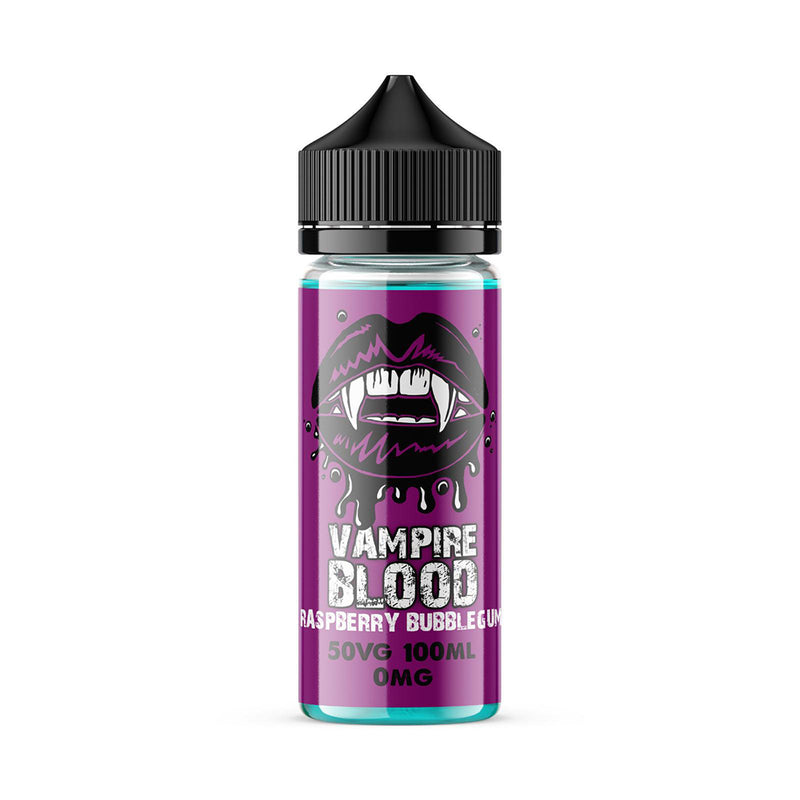 Vampire Blood 100ml E-Liquid - Raspberry Bubble Gum