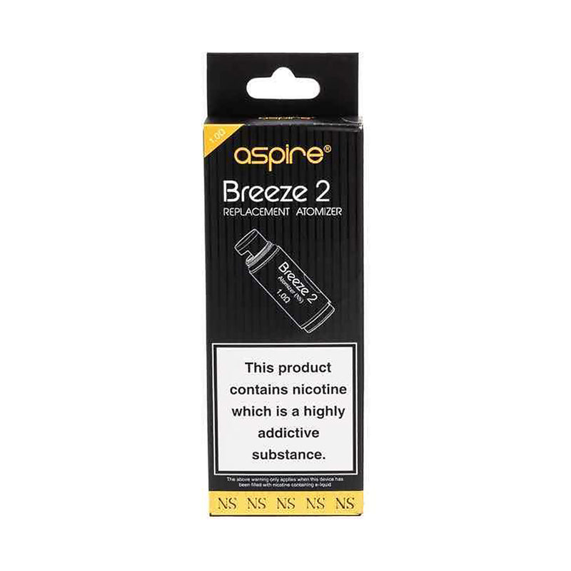 Aspire Breeze/Breeze 2 Replacement Coils - 5 Pack