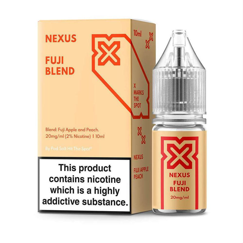 Pod Salt Nexus Fuji Blend 10ml Nic Salt E-liquid