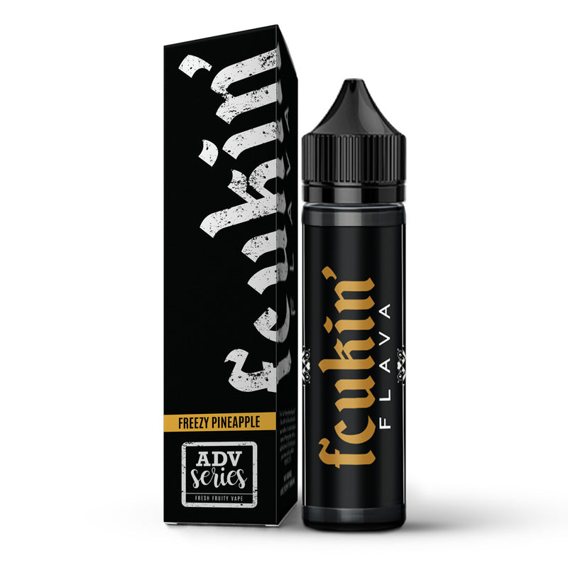 Freezy Pineapple 50ml Shortfill E Liquid By Fcukin Flava