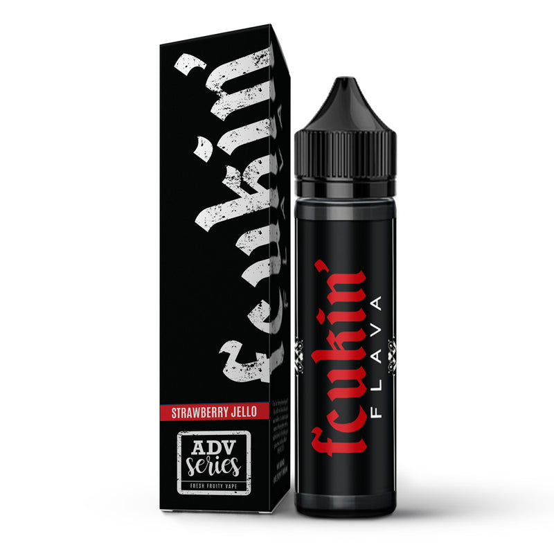 Strawberry Jello 50ml Shortfill E Liquid By Fcukin Flava