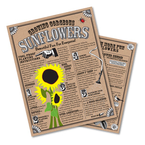 Sunflower | Instructions | The Jonsteen Company