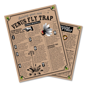Venus Flytrap | Instructions | The Jonsteen Company