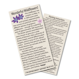 Wildflower Mix | Instructions | The Jonsteen Company