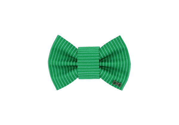 FD Bow Tie - Green stripe