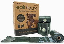 EcoHound Medium/Large Poo Bag with Tie Handles - Box of 300