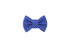 FD Bow Tie - Classic Blue & White Dots