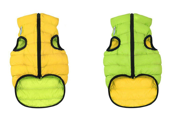 Airy Vest Reversible Yellow/Green