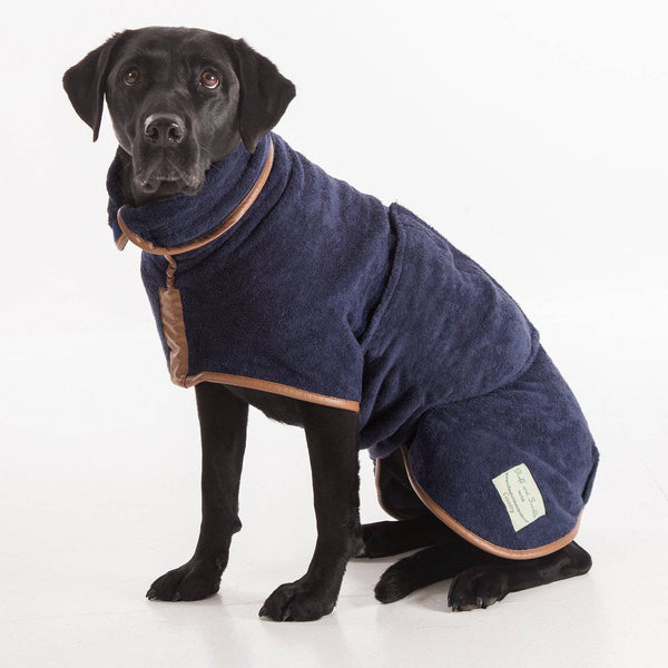 Ruff & Tumble Navy Drying Coat