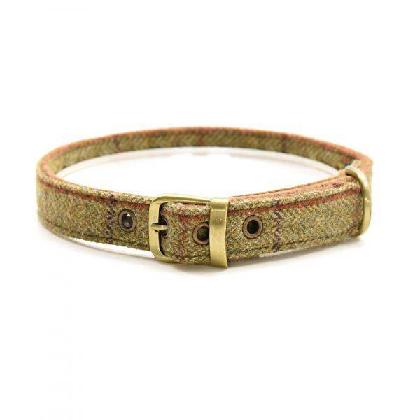Tweed Dog Collar 922
