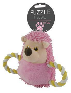 Hedgehog dog toy in four colours