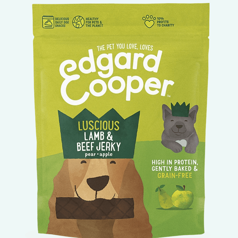 Edgard and Cooper Lamb & Beef Jerky