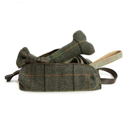 Quality tweed wash bag by Tweedmill in their signature 12 tweed