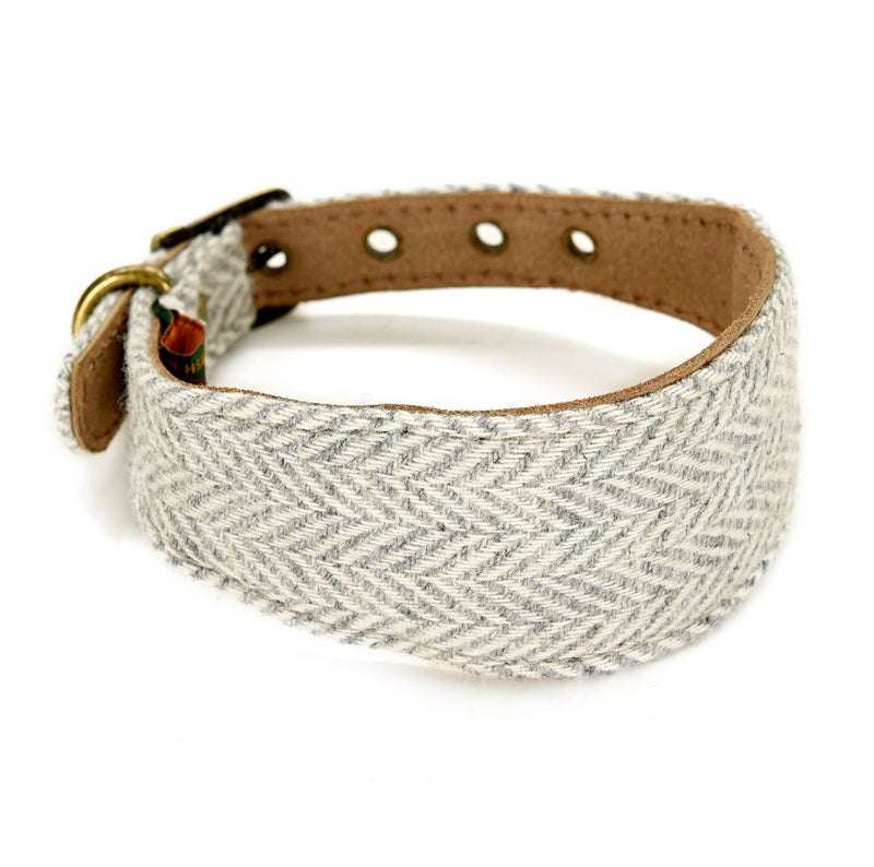 Tweed Whippet Collar 42cms