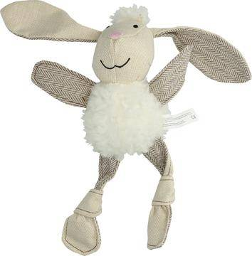 Wooly Luxury Flatfeet Bunny White