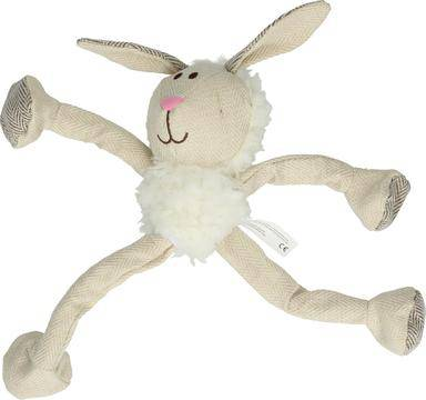 Wooly Luxury Fluffy Bunny White