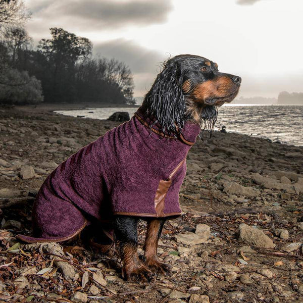 Ruff & Tumble Burgundy Drying Coat