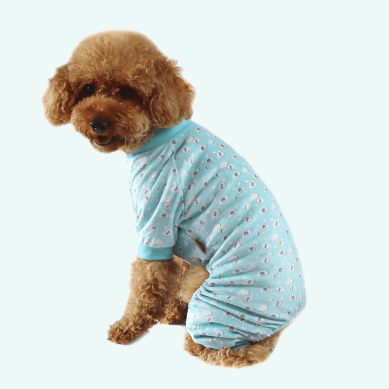Dreaming Dog Pyjamas - Blue Clouds