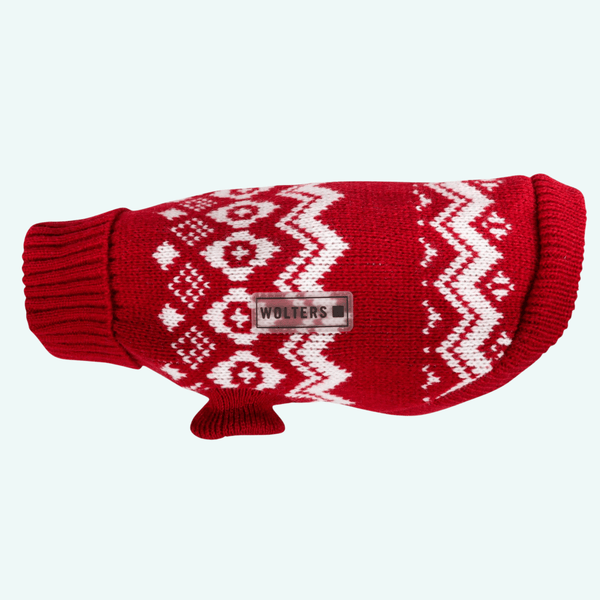 Christmas Fairisle Jumper Red/White