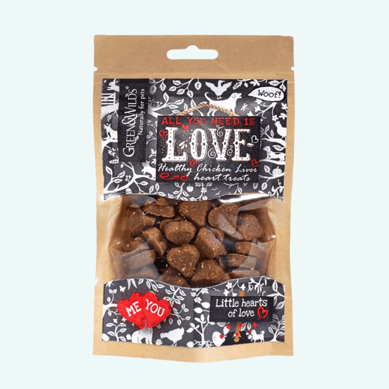 Green and Wilds Love Treats 100g