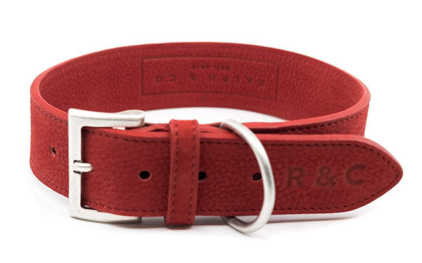 Ralph Nubuck Como Red Collar