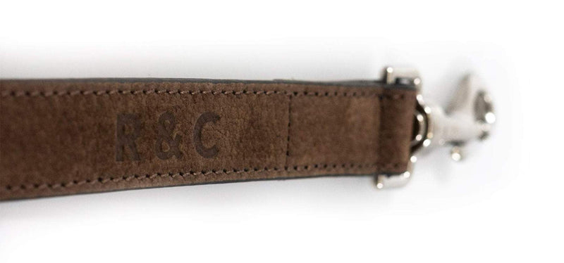 Ralph Nubuck Lead Bergamo Brown