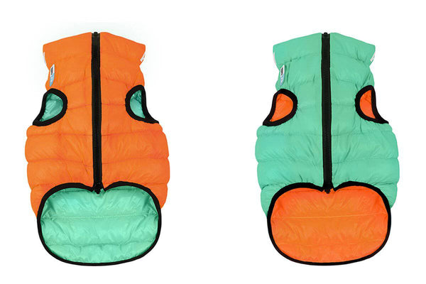 Airy Vest LUMI Orange/Green