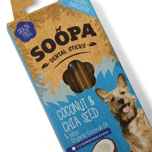 Soopa Coconut & Chia Seed Sticks