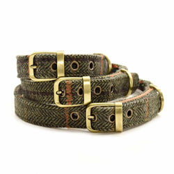 Tweed Dog Collar 12