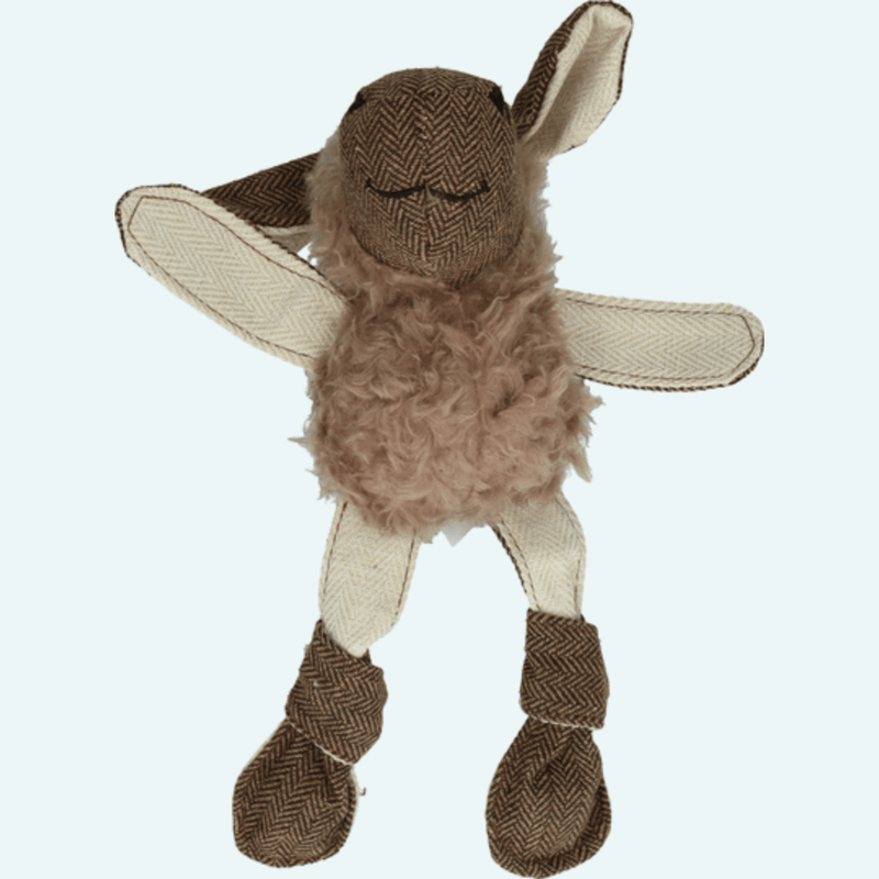 Wooly Luxury Flatfeet Sheep Brown