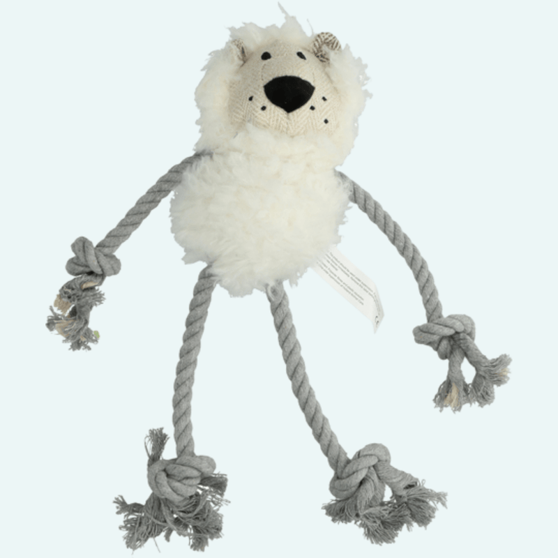 Wooly Luxury Ropy Lion White