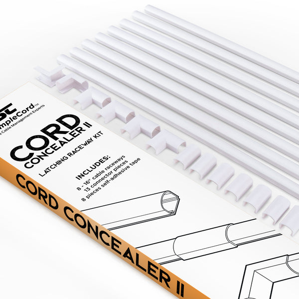 Cable Concealer White Simplecord