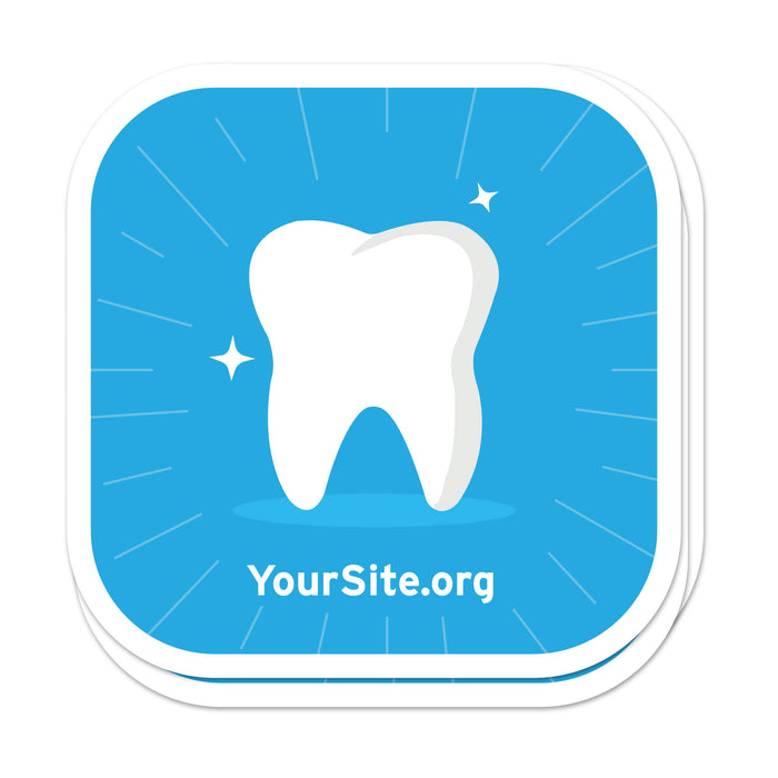 Shiny Tooth Sticker