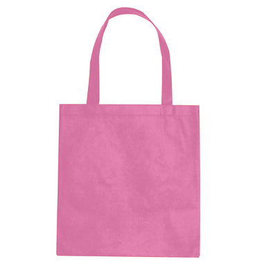 Custom Pink Non-Woven Tote Bag
